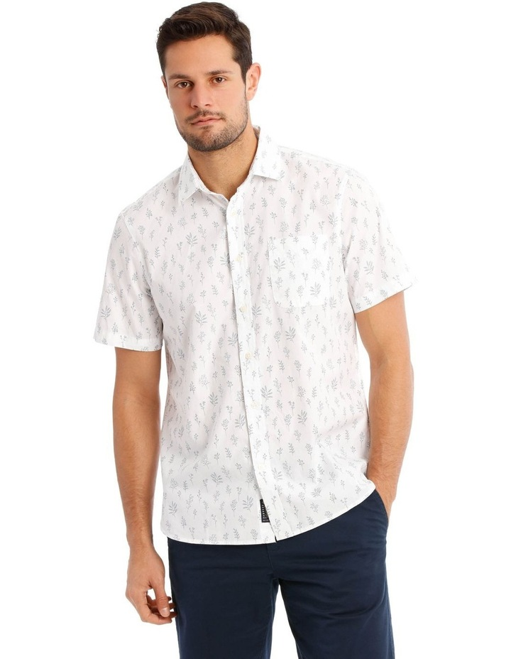 Garden Print Short Sleeve Shirt image 1