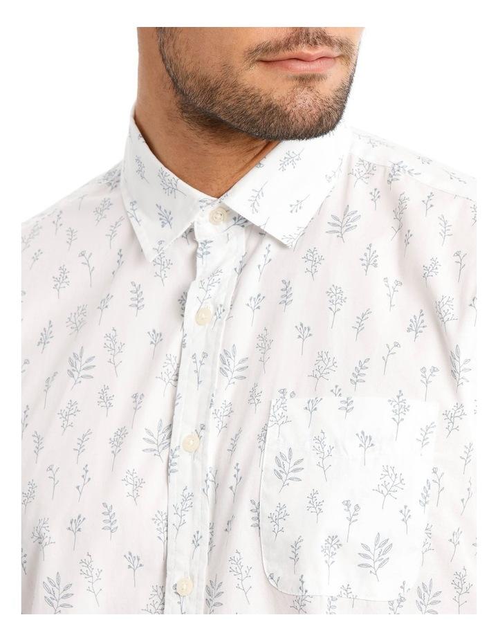 Garden Print Short Sleeve Shirt image 4