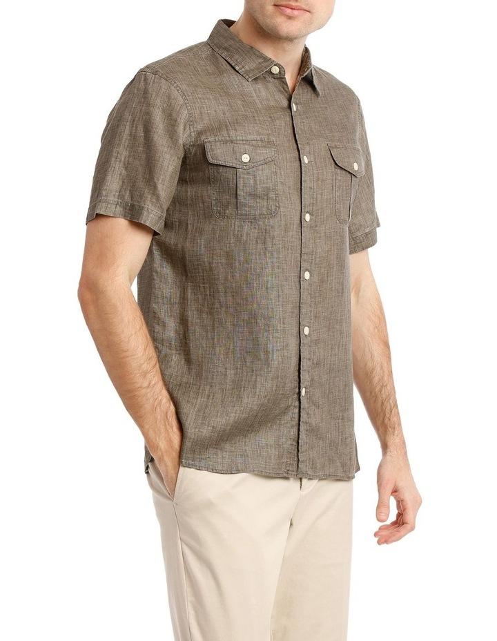 Creek Linen Short Sleeve Shirt image 2
