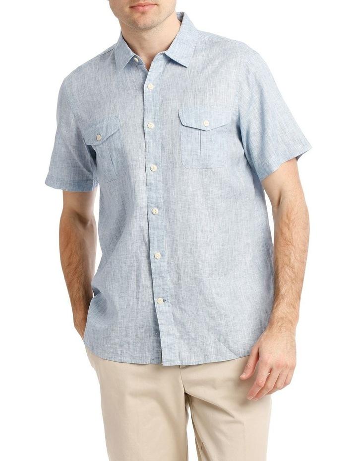 Creek Linen Short Sleeve Shirt image 1