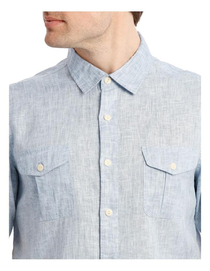 Creek Linen Short Sleeve Shirt image 4