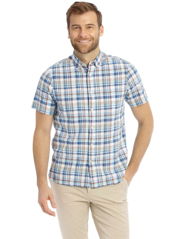 Mullingar Slub Checkered Short-Sleeve Shirt image 1