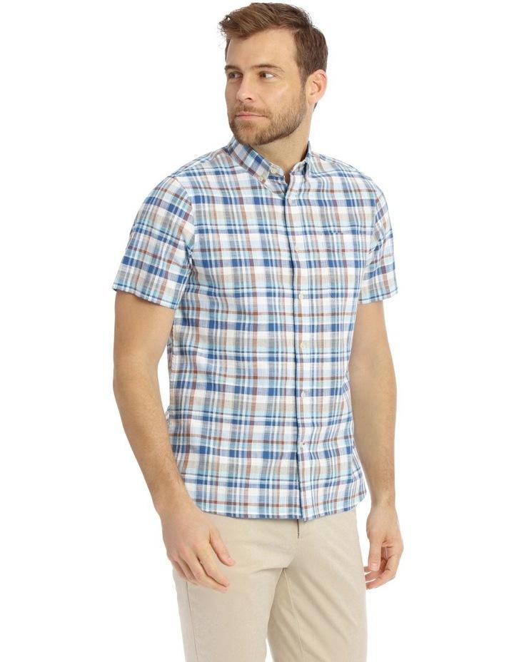 Mullingar Slub Checkered Short-Sleeve Shirt image 2