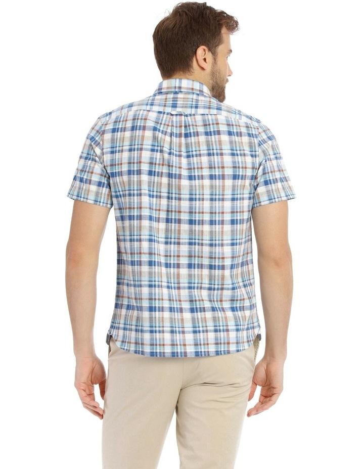 Mullingar Slub Checkered Short-Sleeve Shirt image 3