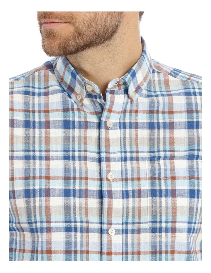 Mullingar Slub Checkered Short-Sleeve Shirt image 4
