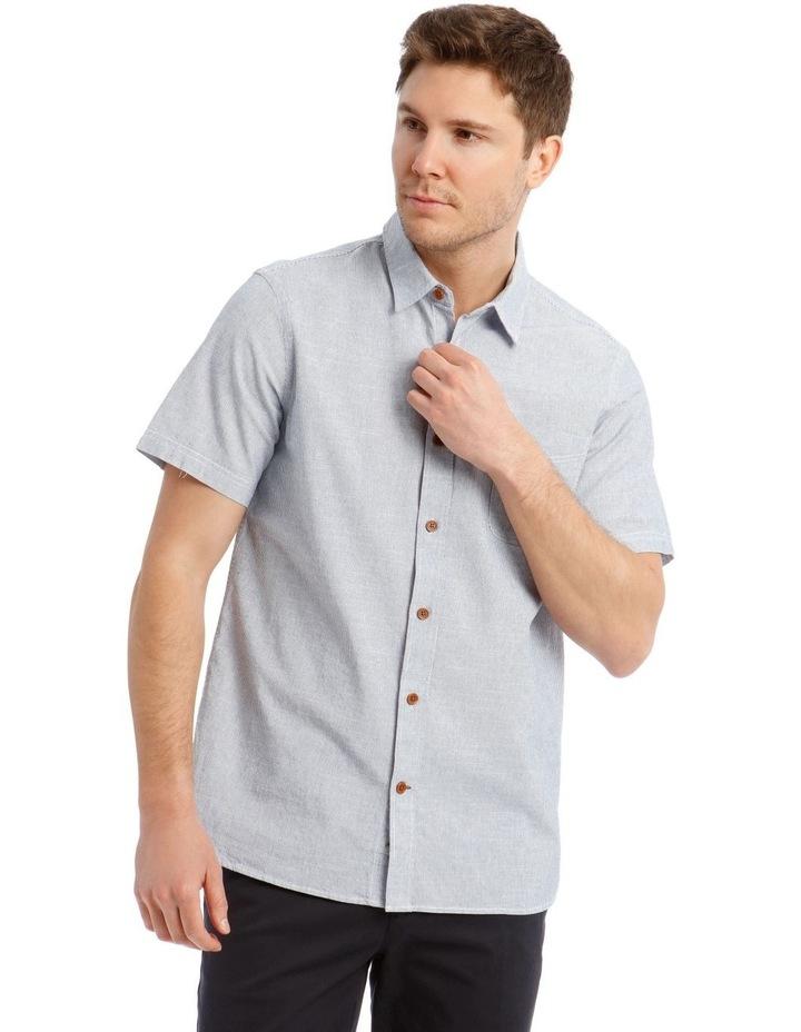 Hornsea Slub Stripe SS Shirt image 1