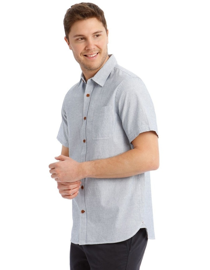 Hornsea Slub Stripe SS Shirt image 2