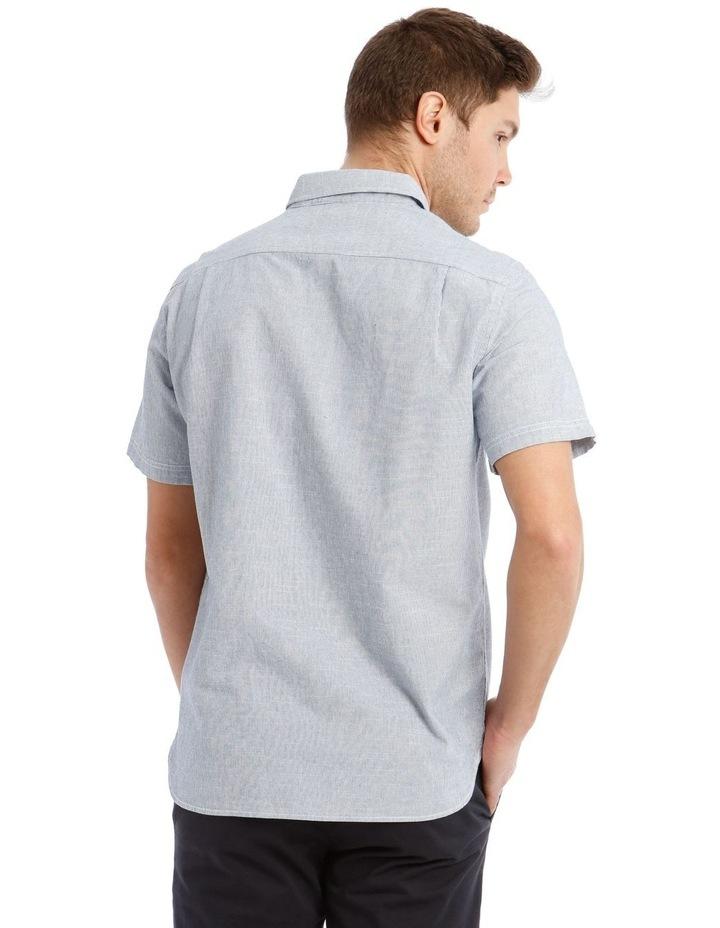 Hornsea Slub Stripe SS Shirt image 3
