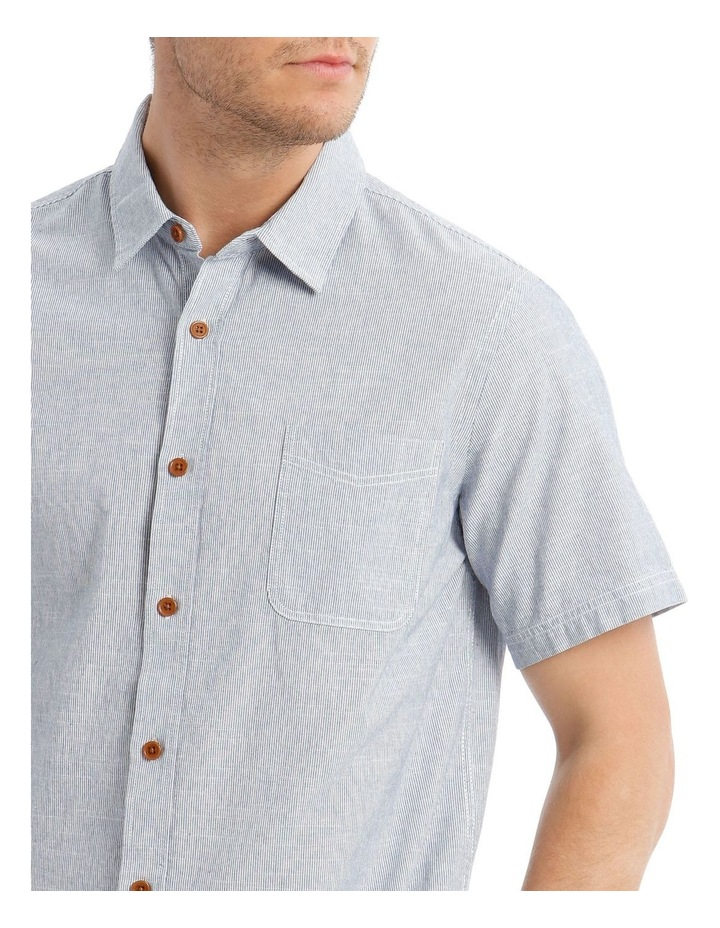 Hornsea Slub Stripe SS Shirt image 4