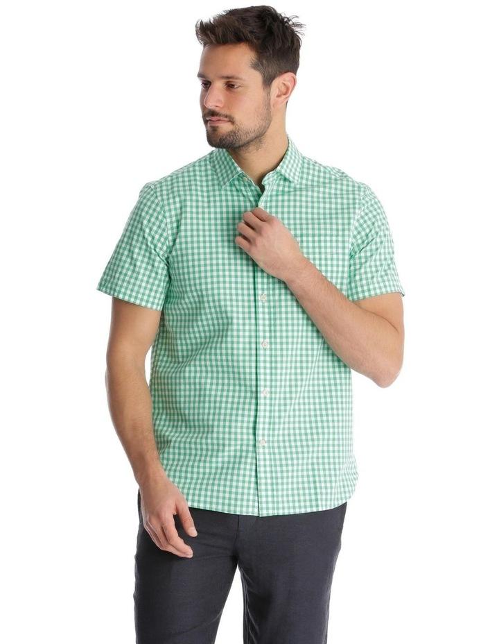 Fremantle Gingham Short Sleeve Check Shirt image 1