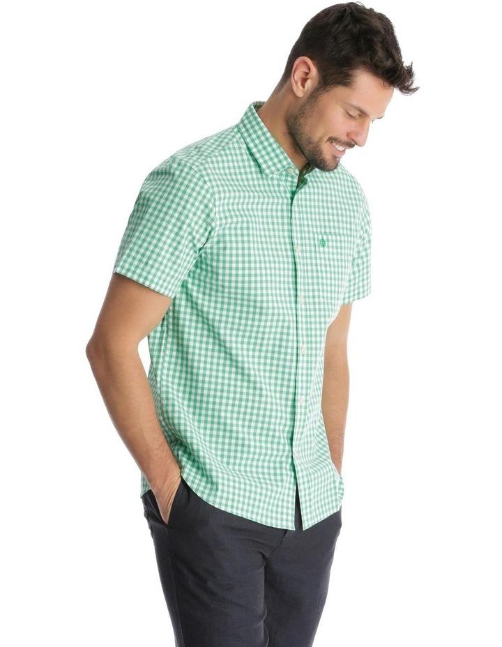 Fremantle Gingham Short Sleeve Check Shirt image 2