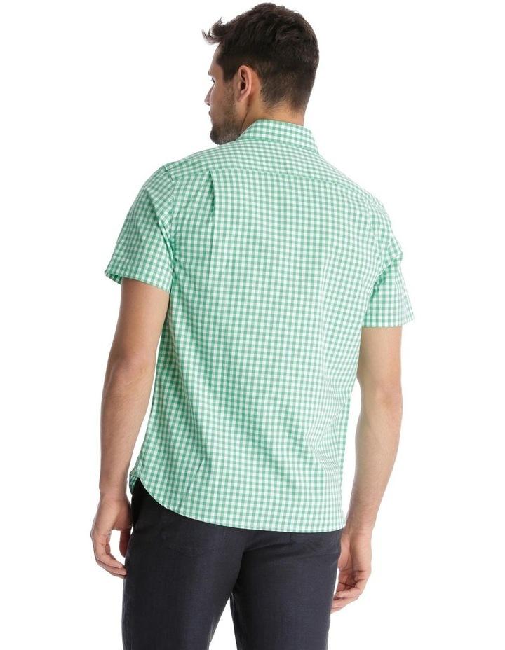 Fremantle Gingham Short Sleeve Check Shirt image 3