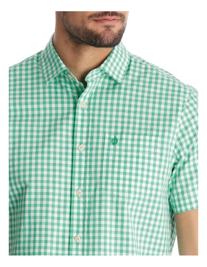Fremantle Gingham Short Sleeve Check Shirt image 4