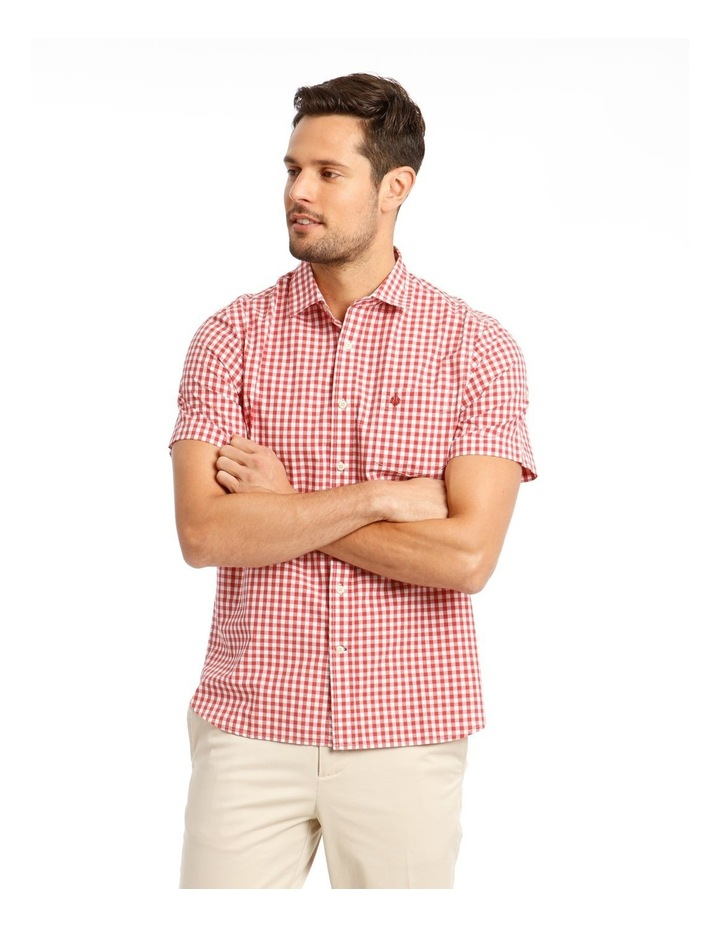 Fremantle Gingham Short Sleeve Check Shirt image 1