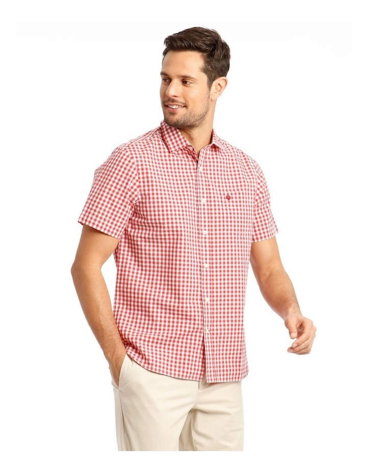 Fremantle Gingham Short Sleeve Check Shirt image 2