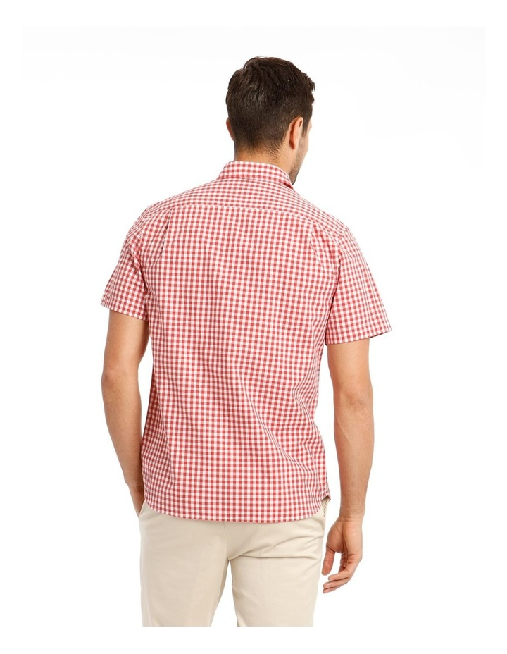 Fremantle Gingham Short Sleeve Check Shirt image 3