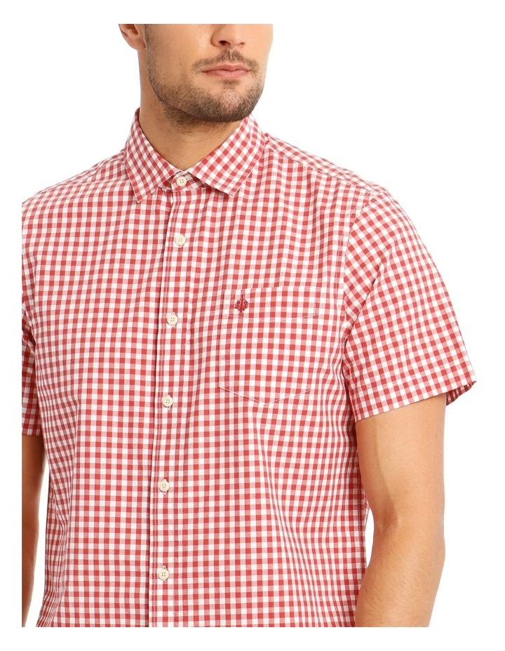Fremantle Gingham Short Sleeve Check Shirt image 4