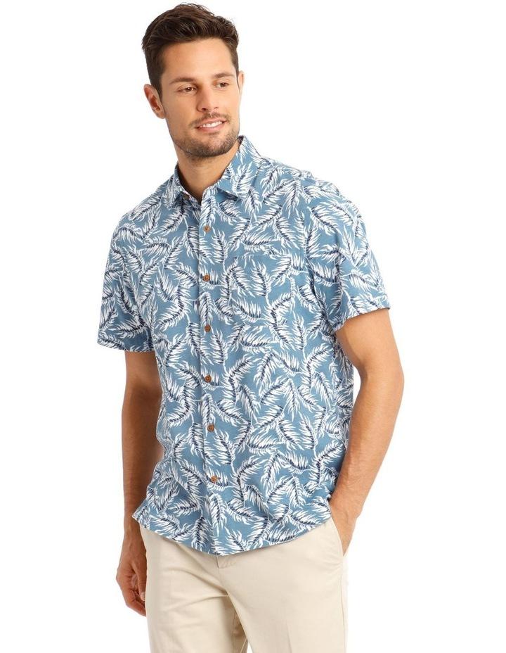 Brighton Print Jersey Short Sleeve Shirt image 2