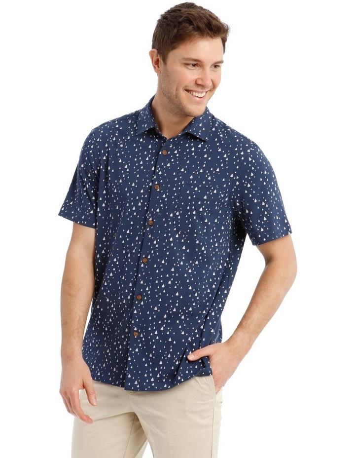 Montauk Print Short Sleeve Shirt image 1