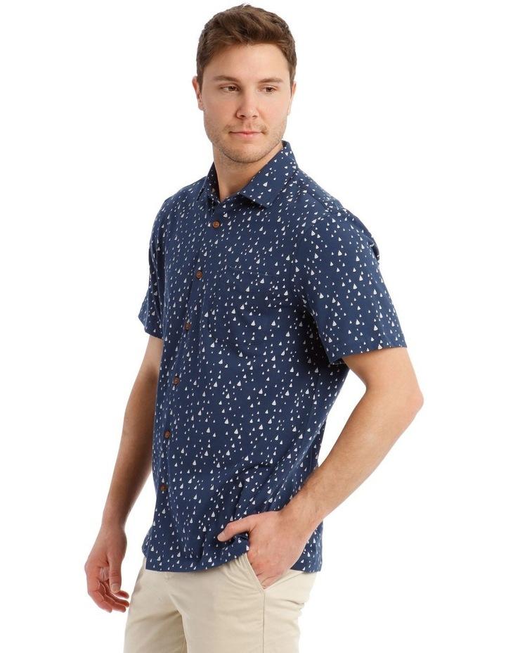 Montauk Print Short Sleeve Shirt image 2