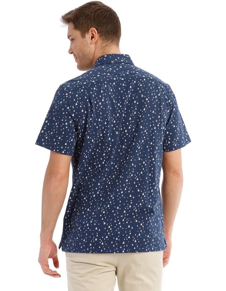 Montauk Print Short Sleeve Shirt image 3
