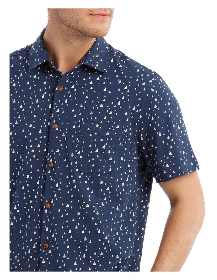 Montauk Print Short Sleeve Shirt image 4