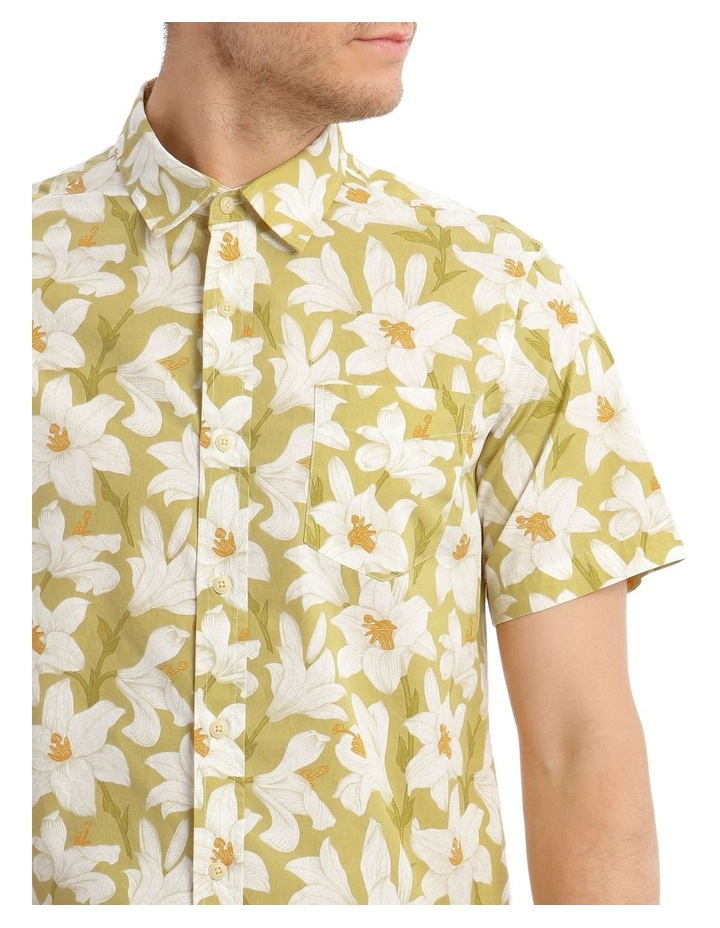 Wayland Print Short Sleeve Shirt image 4