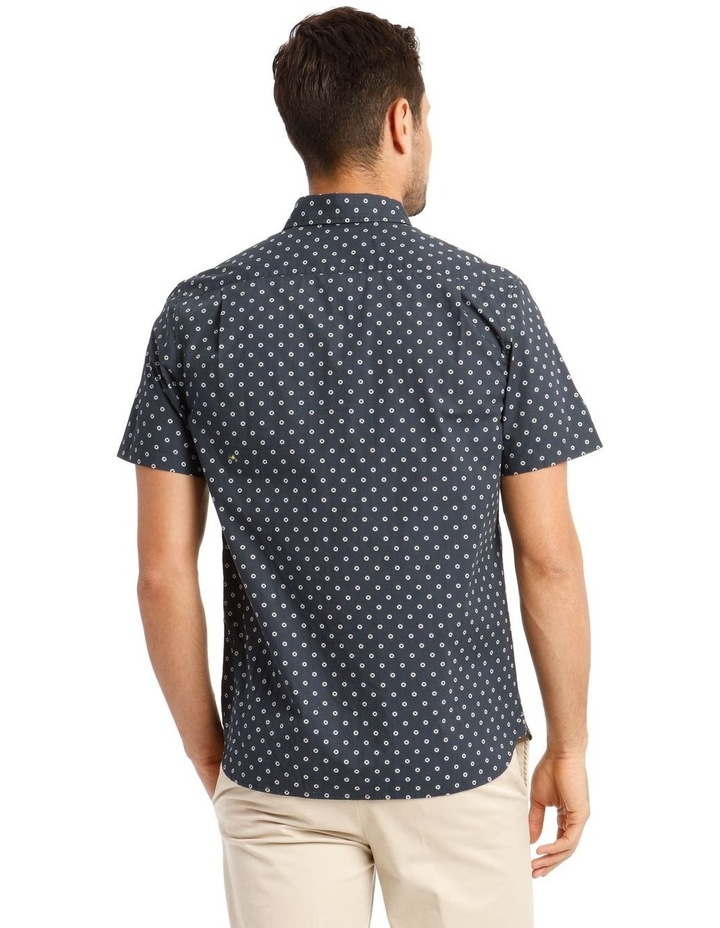 Cosmo Print Short Sleeve Shirt image 3