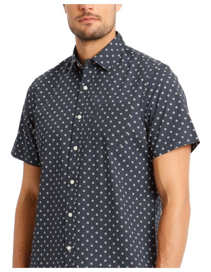 Cosmo Print Short Sleeve Shirt image 4