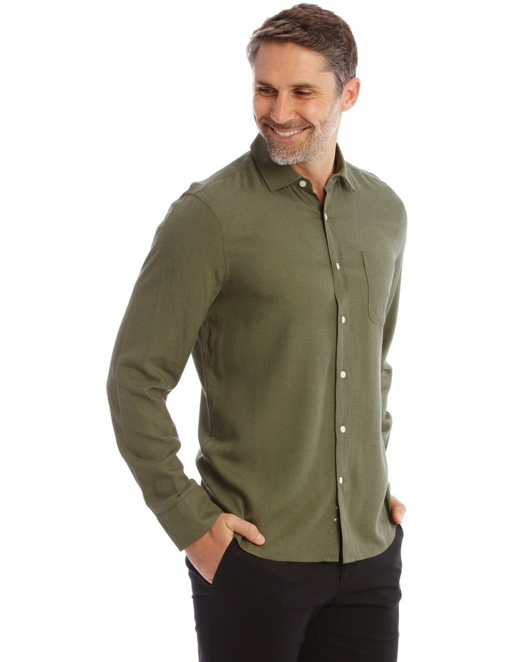 Gower Soft Touch Dog Tooth Ls Shirt image 2