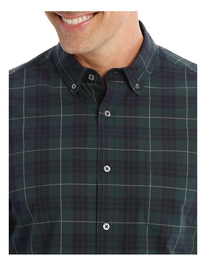 Milford Tartan Long-Sleeve Shirt In Green image 4