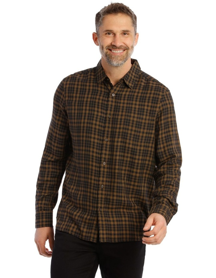Fairfield Gingham Soft Touch Check Long Sleeve Shirt image 1