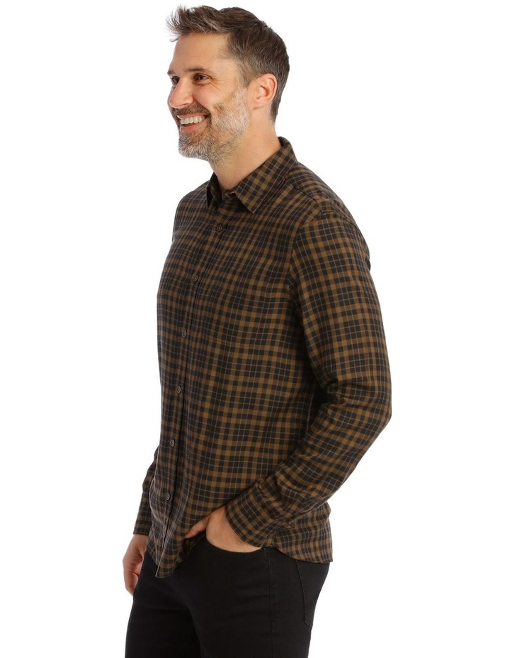 Fairfield Gingham Soft Touch Check Long Sleeve Shirt image 2