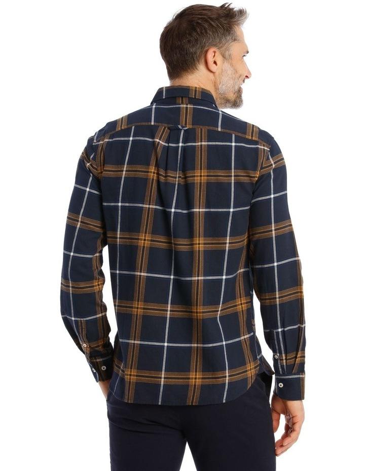 Castleton Brushed Check Twill Long Short Shirt image 3