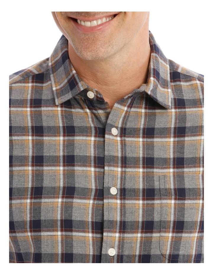 Ceder Brushed Twill Long-Sleeve Check Shirt image 4