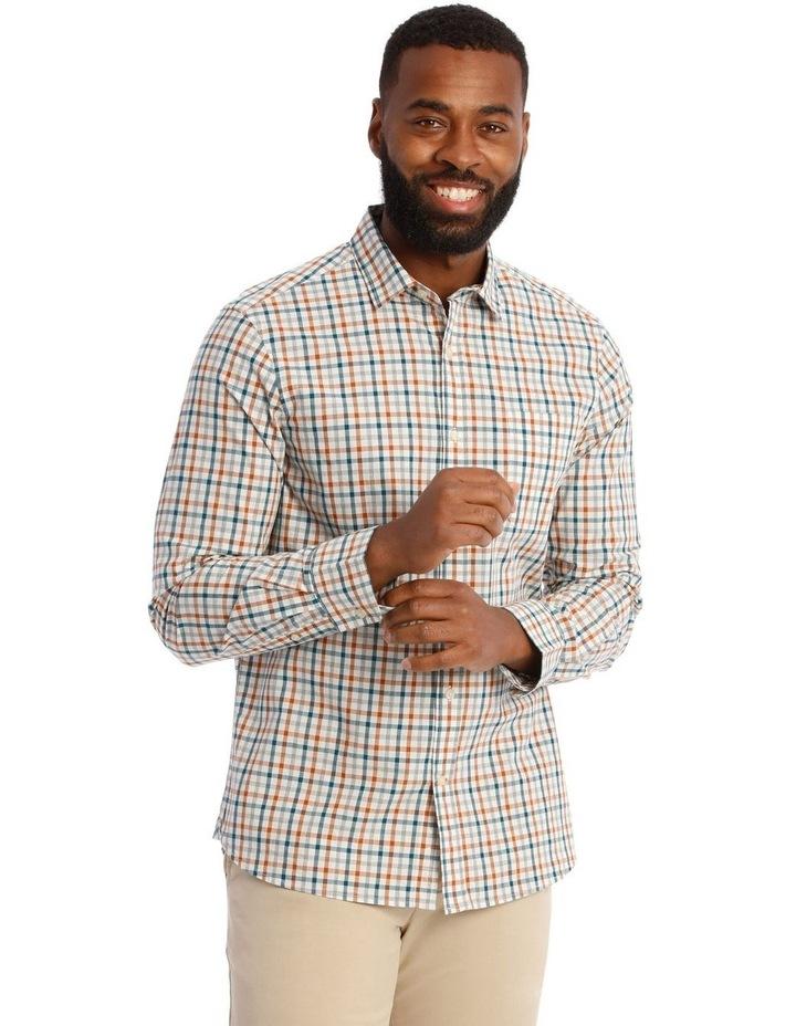 Hoath Check Oxford Long Sleeve Shirt image 1