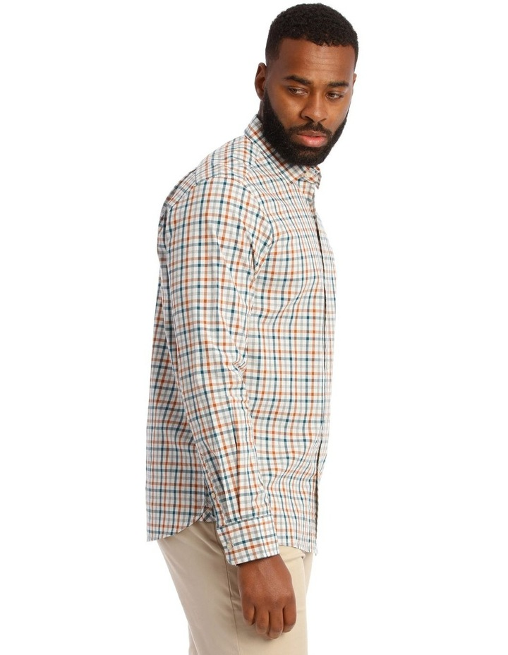 Hoath Check Oxford Long Sleeve Shirt image 2