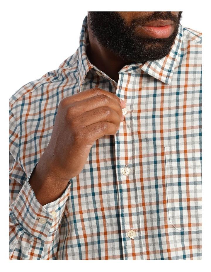 Hoath Check Oxford Long Sleeve Shirt image 4