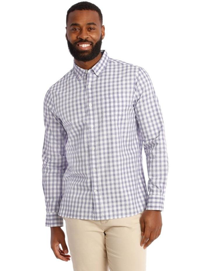 Cutler Cotton Check Long Sleeve Shirt image 1