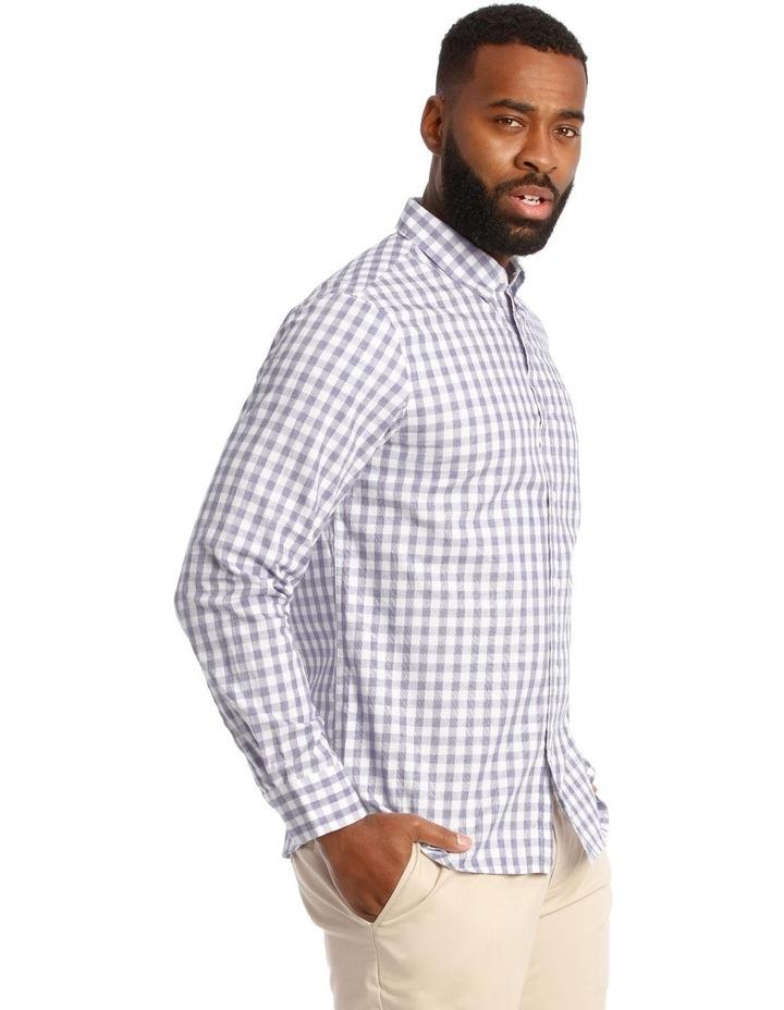 Cutler Cotton Check Long Sleeve Shirt image 2