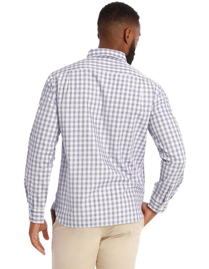 Cutler Cotton Check Long Sleeve Shirt image 3