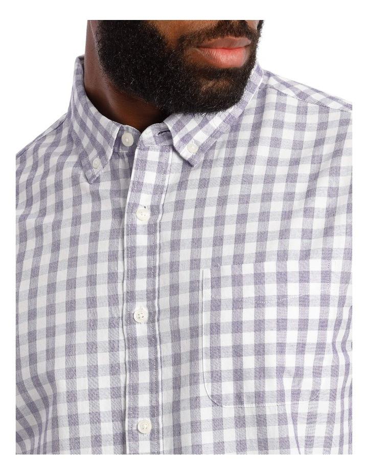 Cutler Cotton Check Long Sleeve Shirt image 4