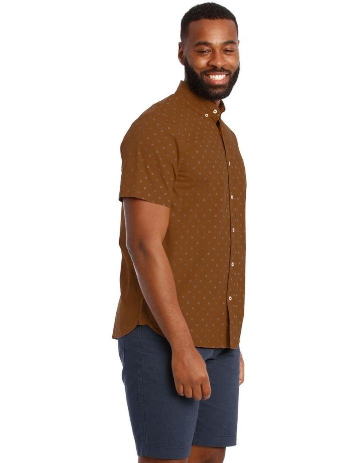 Islesboro Geo Print Short Sleeve Shirt image 2