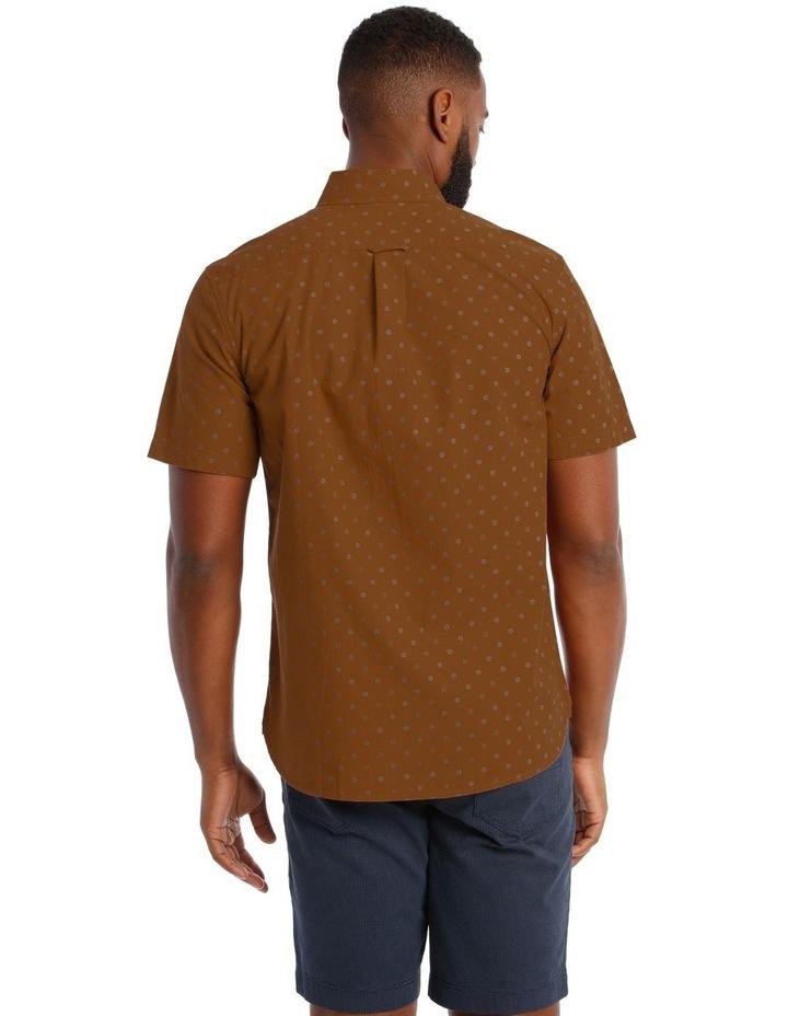 Islesboro Geo Print Short Sleeve Shirt image 3