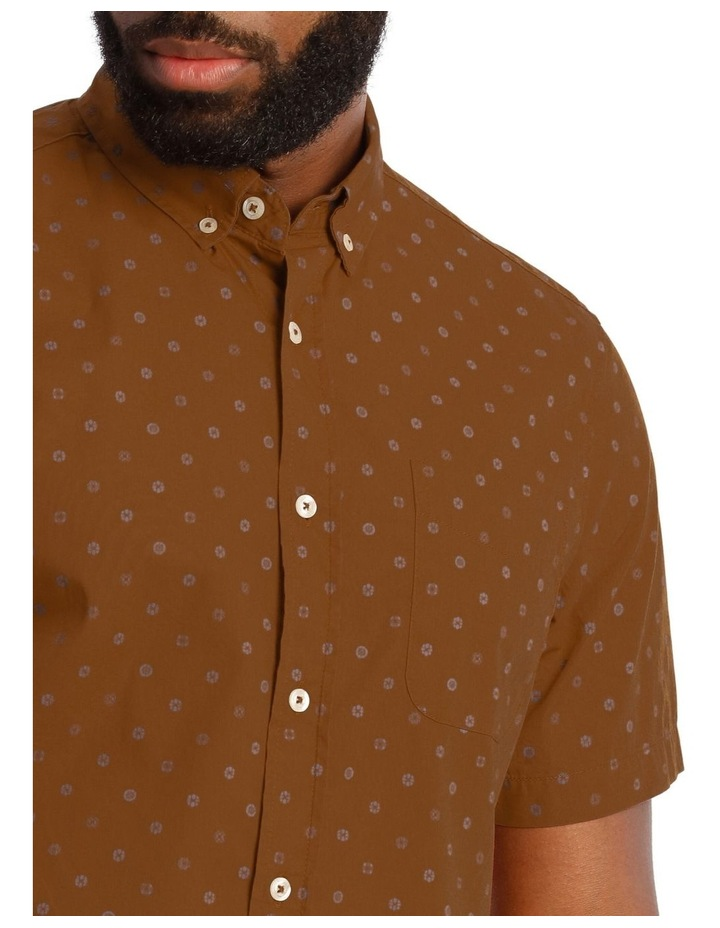 Islesboro Geo Print Short Sleeve Shirt image 4