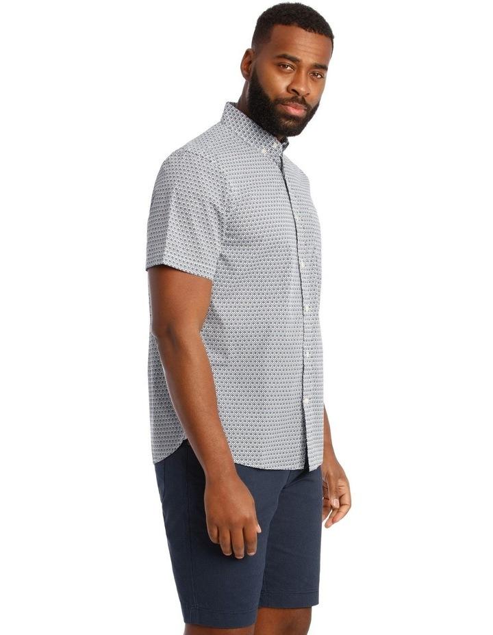 Fenton Daisy Print Short Sleeve Shirt image 2
