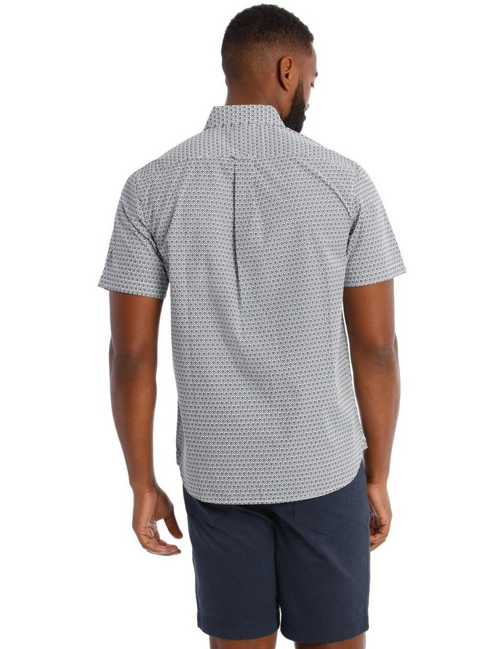 Fenton Daisy Print Short Sleeve Shirt image 3