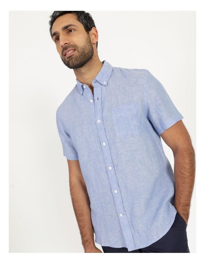 Bodega Linen Button Down Short Sleeve Shirt image 2