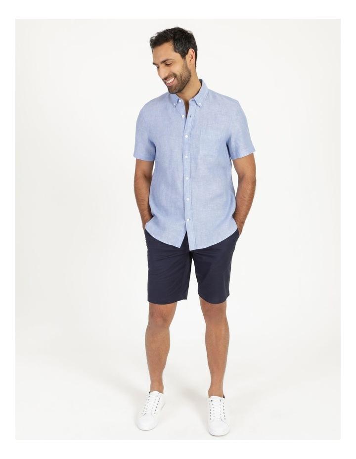 Bodega Linen Button Down Short Sleeve Shirt image 3