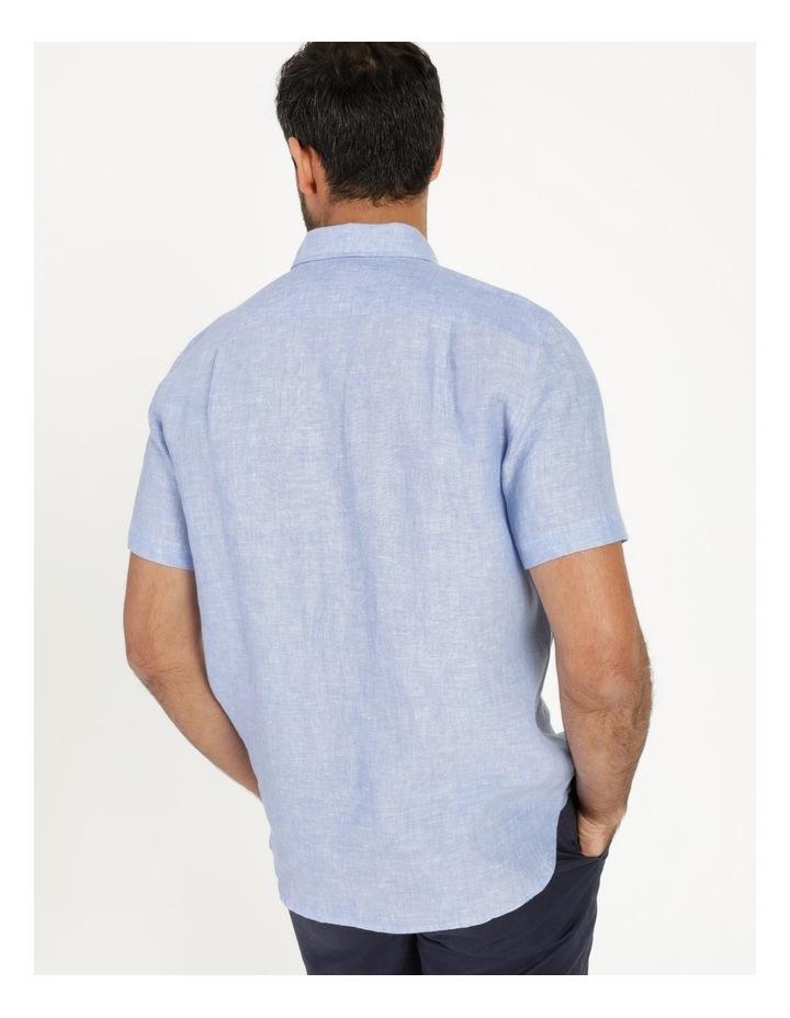 Bodega Linen Button Down Short Sleeve Shirt image 4